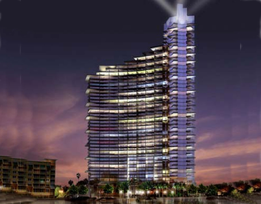 Downtown Miami at Miami 2060 North bayshore dr., Florida 33137
