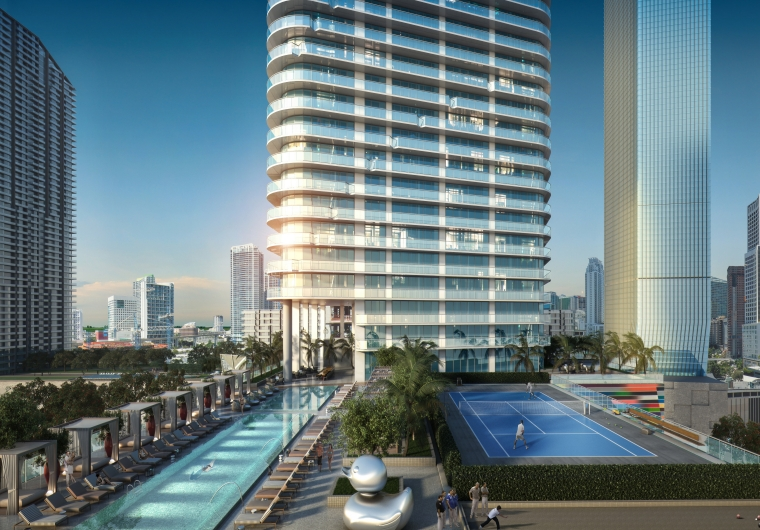 Brickell at Miami 801 South Miami Avenue, Florida 33130