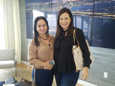 Yusmaylin Fernandez and Maria Jose Sol