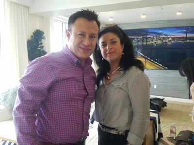 Christian Torzel and Martha Lucia Martinez