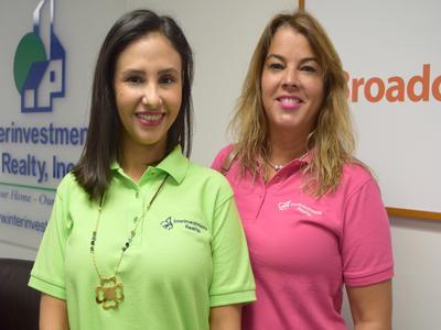 Elienai Romero (left) & Mary Carmen Ferrigny (right)