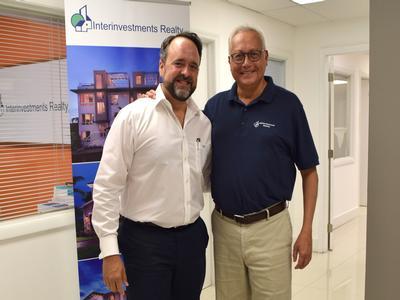 President and Broker Emilio Cardenal (left) & Manager Fabricio Duarte (right)
